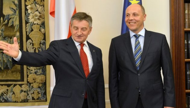 Парламенти України, Польщі і Литви підготують заяву щодо історії - Парубій