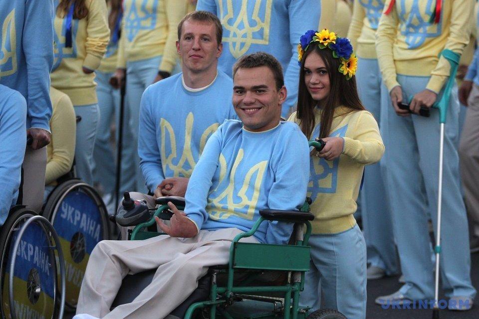 Українську збірну провели на Паралімпіаду у Ріо/ Фото: Шамкін Данііл, Укрінформ