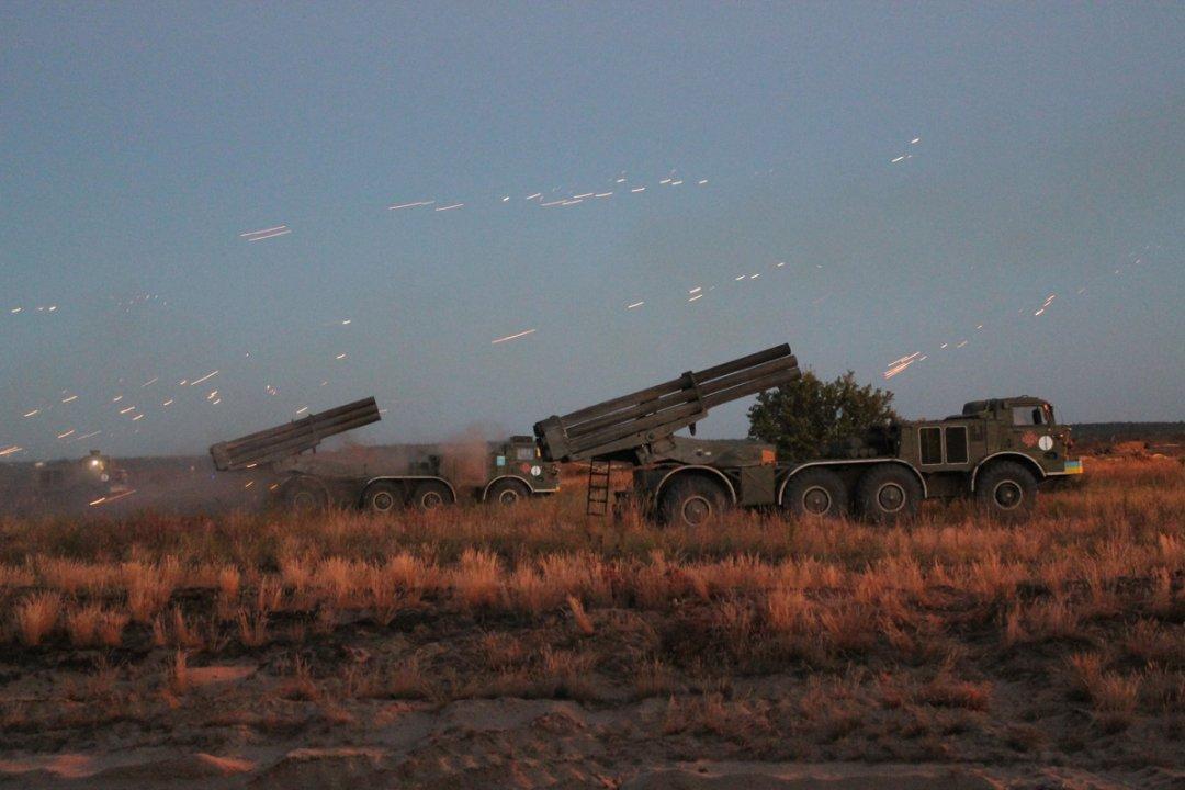 Украинские артиллеристы усовершенствовали навыки стрельбы изреактивных систем «Ураган»