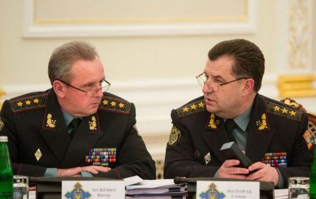Віктор Муженко і Степан Полторак
