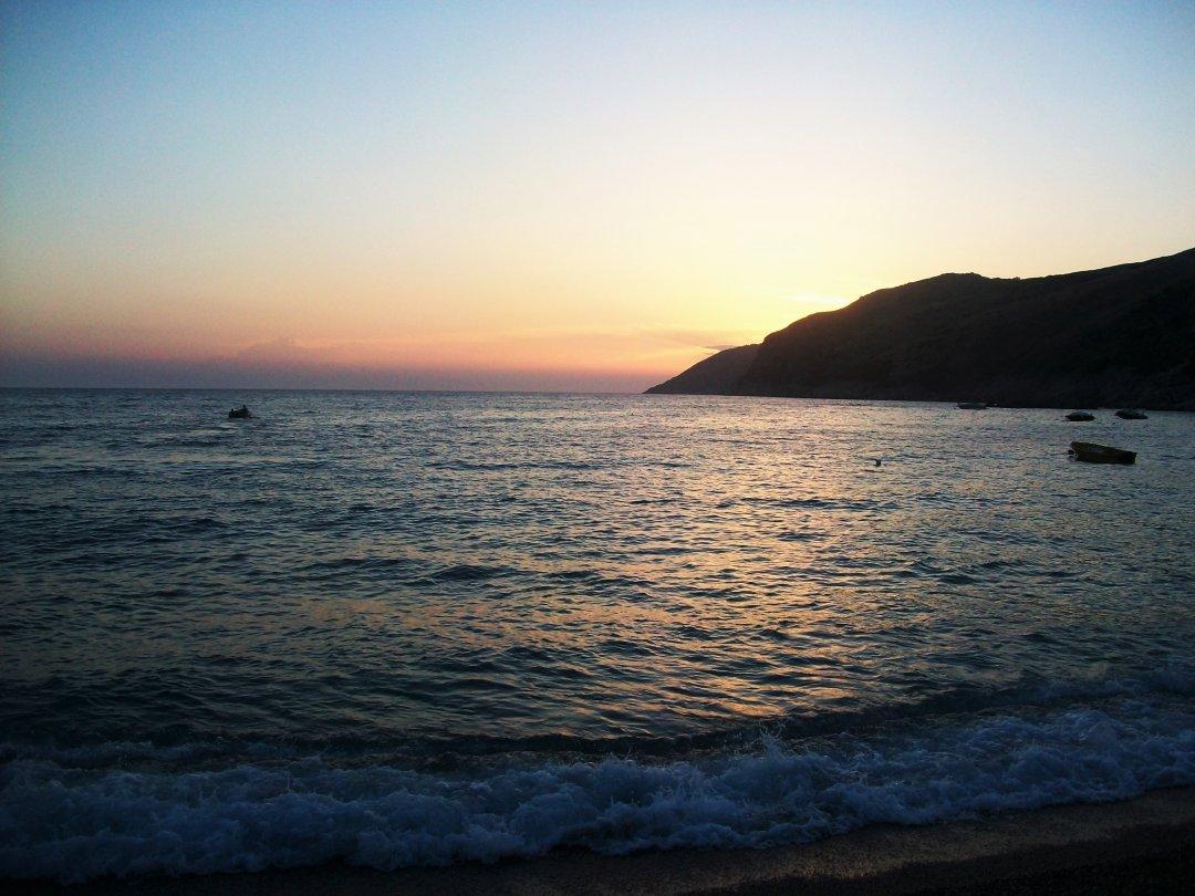 Вид с пляжа Яли