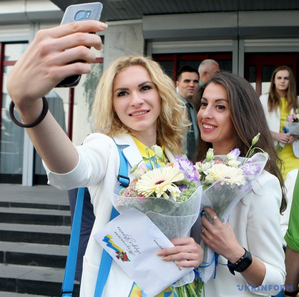 У День спорту в МВС відзначили динамівців-призерів Олімпіади