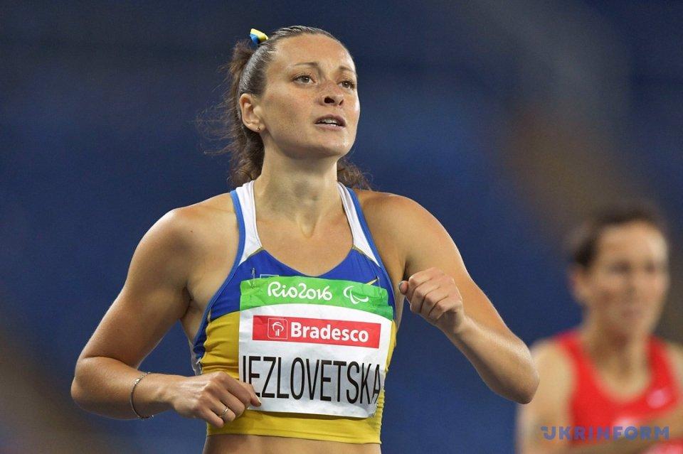 Серебряный призер Наталья Езловецкая