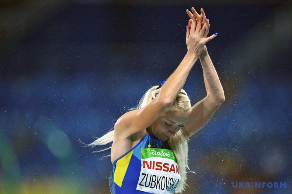 Золотой призер Паралимпиады Оксана Зубковская