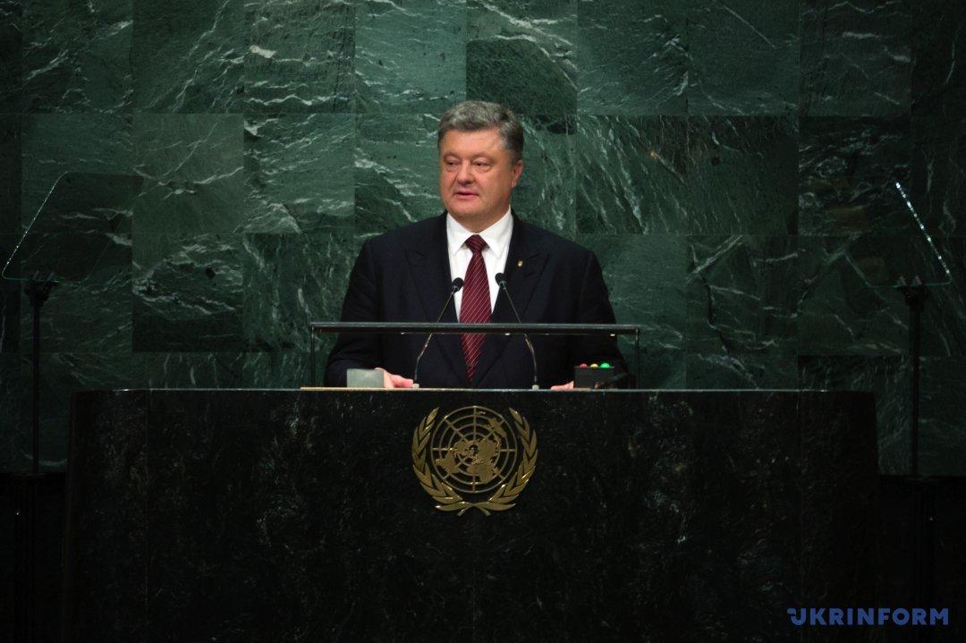 Президент Украины Петр Порошенко. Фото: Михаил Палинчак, Укринформ.