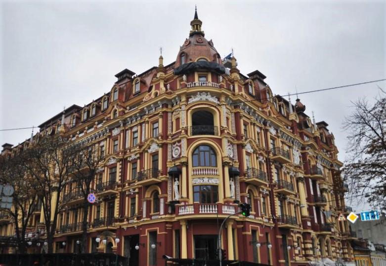 Отель Renaissance компании Мarriott. Киев
