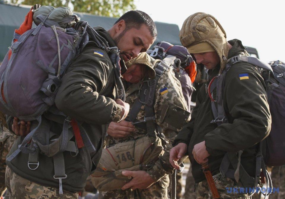 Десантники отработали субъекты рейдовых действий— Сборы резервистов