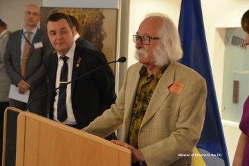 У Європарламенті проходить виставка робіт Івана Марчука