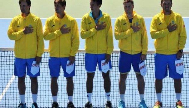 Україна оголосила склад на матч Кубка Девіса з японцями