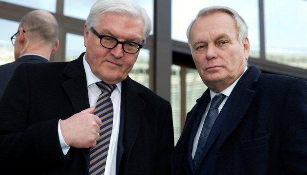 Штайнмаєр та Еро згодні, що місія ОБСЄ необхідна на лінії розмежування