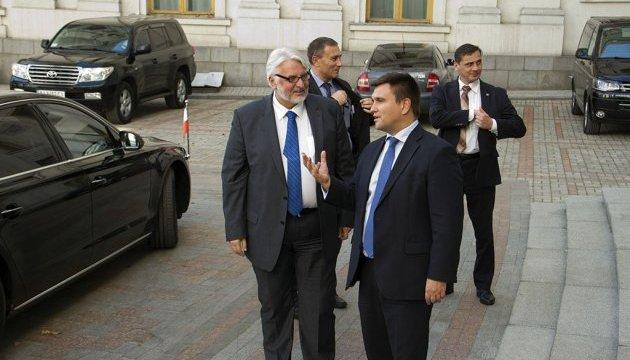 Клімкін запросив Ващиковського на зустріч європейських міністрів у Києві