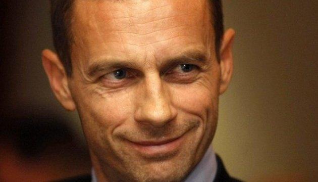 Новий президент УЄФА підтримає східноєвропейський футбол