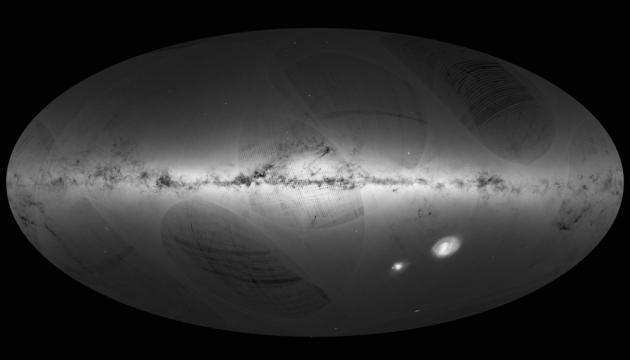 Астрономи створили тривимірну карту Чумацького Шляху