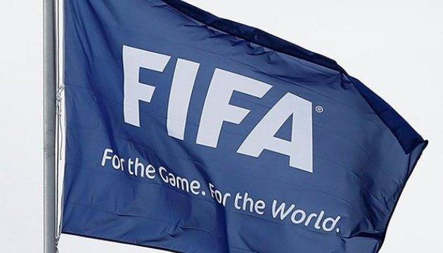 Україна піднялася на 29 місце в рейтингу ФІФА