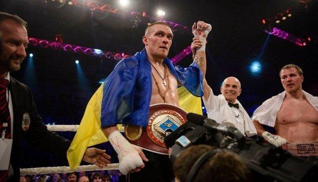 Усик став 11 українським чемпіоном світу серед профі