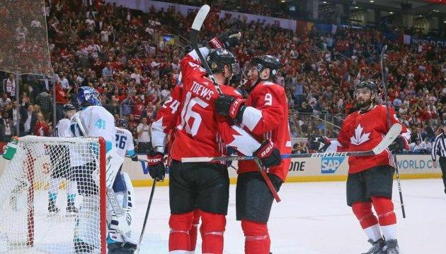 Канадці та шведи очолюють групи на Кубку світу з хокею