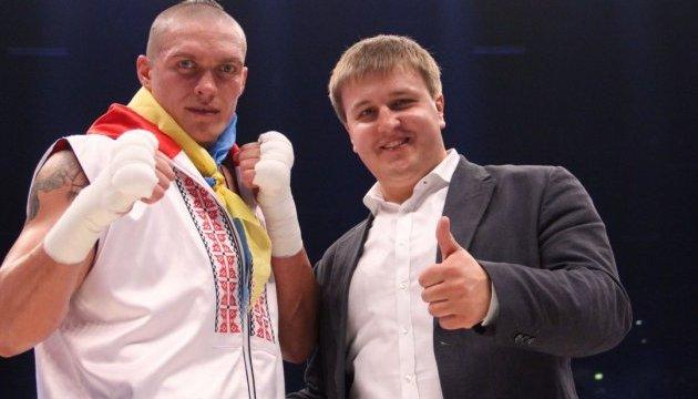 Гендиректор K2 Promotions: Наступний бій Усика може пройти у Києві