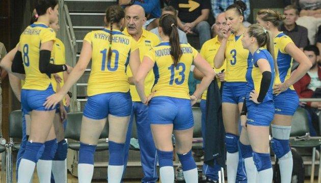 Волейболістки збірної України зіграють у фіналі кваліфікації Євро-2017