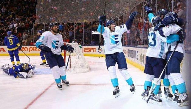 Хокеїсти збірної Європи зіграють у фіналі Кубка світу з канадцями
