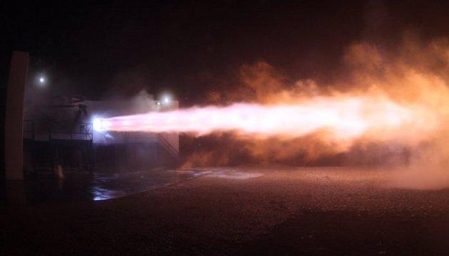 SpaceX випробувала двигун для польоту на Марс