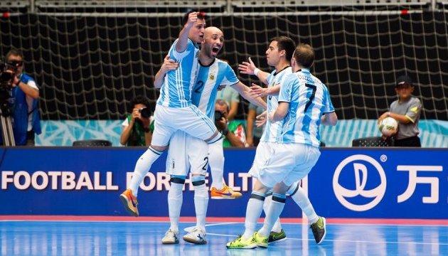 Аргентина вийшла у фінал чемпіонату світу з футзалу