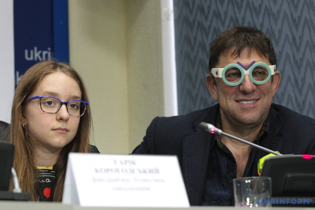 Гарік Карагодський з донькою Марією