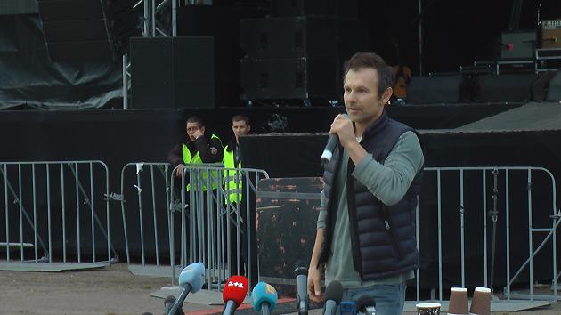 Концерт «Океана Эльзы» вКраматорске собрал около 50 тыс. наблюдателей