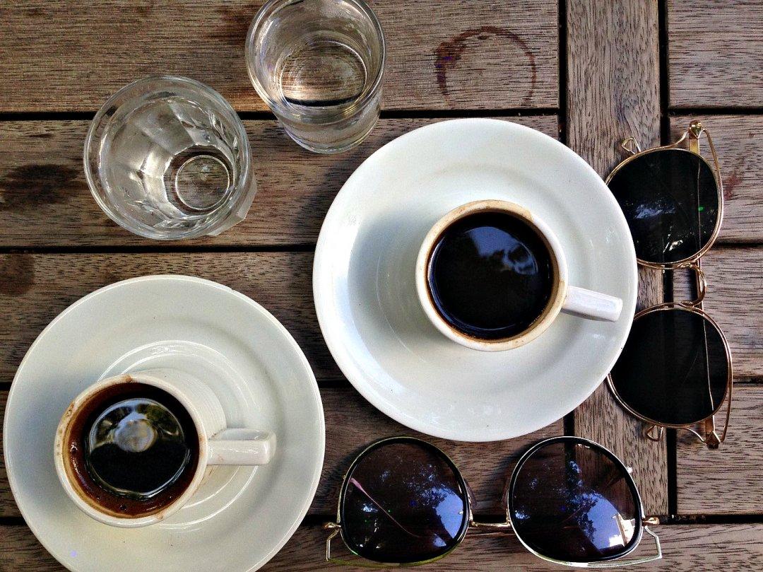 Турецкий кофе утром