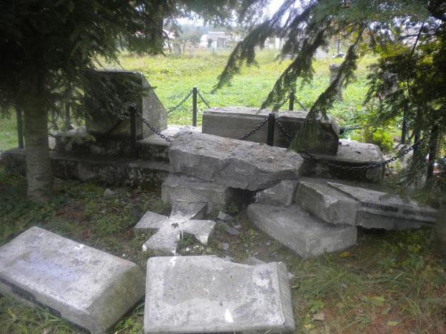 ВПольщі вкотре знищили поховання воїнів УПА