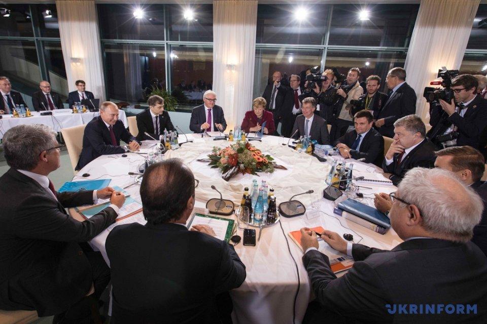 Оптимизм Порошенко, Путин с пивом и берлинские надежды на мир в Донбассе, фото-6