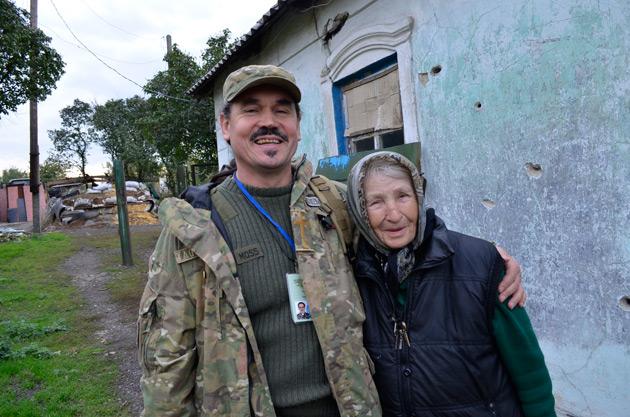 Ігор Скрицький і Петрівна