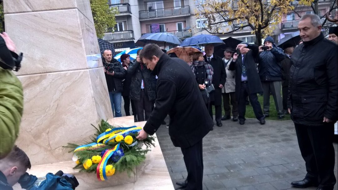 ВРумынии появился монумент Тарасу Шевченко