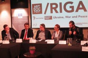 «Украинские шерифы» - герои Риги. Кино и война