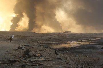 Из Мосула уже бежали более 10 тысяч жителей - ООН