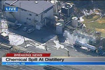 Внаслідок хімічного витоку в Канзасі постраждали десятки людей