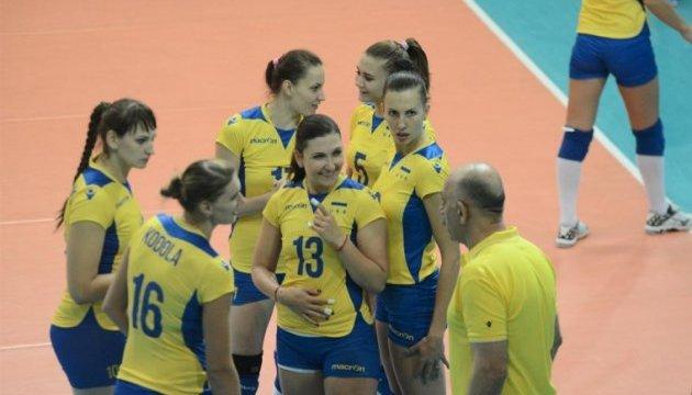 Українські волейболістки програли іспанкам перший матч плей-офф до Євро-2017