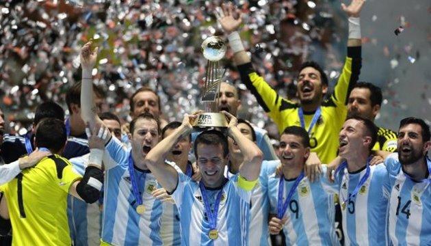 Аргентина вперше виграла чемпіонат світу з футзалу
