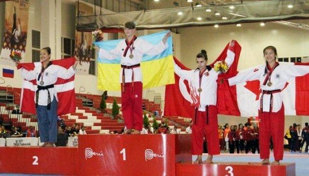 Українка стала чемпіонкою світу з тхеквондо у Перу
