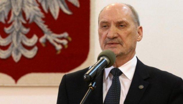 Польша никогда не согласится с российской оккупацией части Украины – министр нацобороны