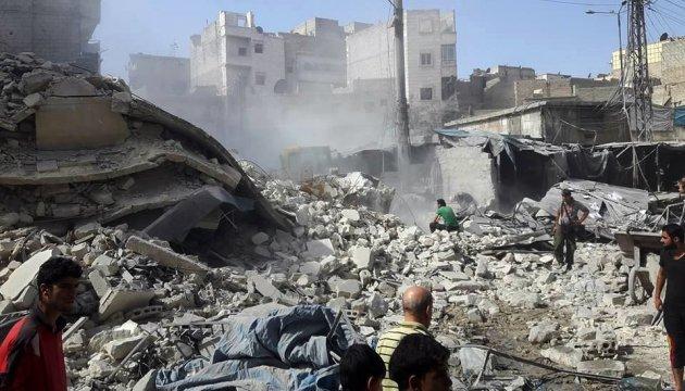 Олланд обвинил Путина в военных преступлениях в Сирии