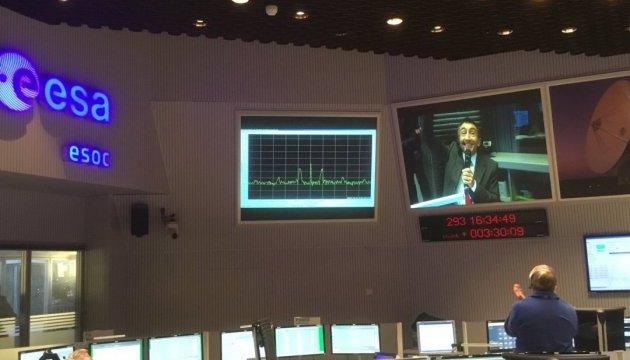 Зонд Schiaparelli передал на Землю первый сигнал с Марса