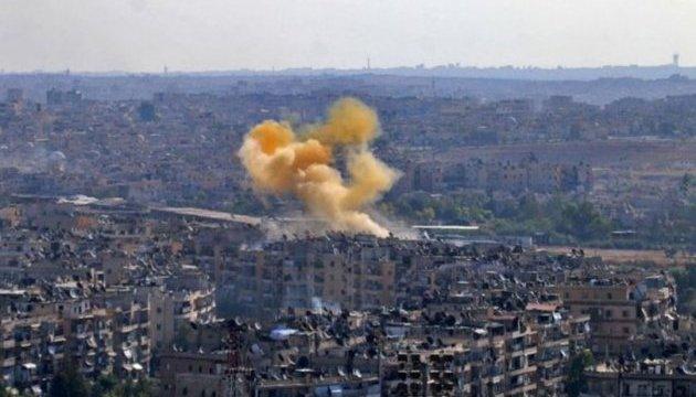 Авиация военного преступника Путина убила более 30 человек в Алеппо, еще 250 ранены