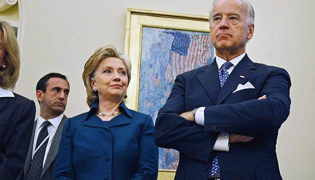Вслучае избрания президентом Клинтон предложит Джо Байдену пост госсекретаря