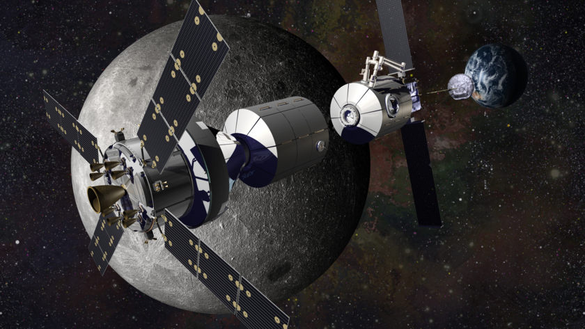 Lockheed Martin. Концепт модуля окололунной станции