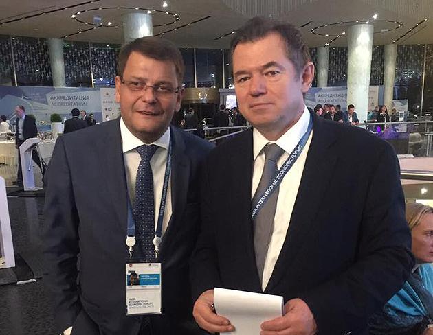 Мартиросян та Глаз'єв / Фото: FB