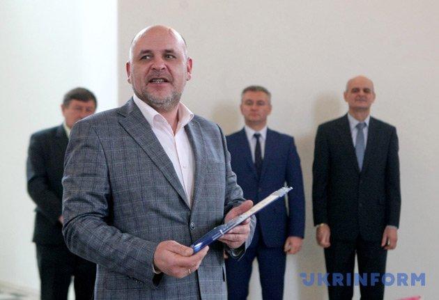 Белоцерковский городской голова Геннадий Дикий