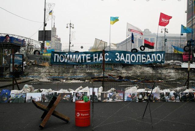 Барикади на Майдані (Київ, 2014 рік) / Фото: rasty.kiev.ua