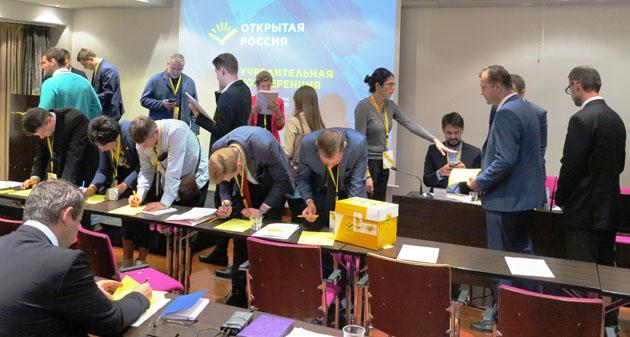 «Открытая Россия» приняла устав движения иизбрала членов Совета