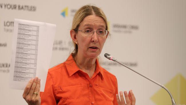 Уляна Супрун - в. о. міністра охорони здоров'я України