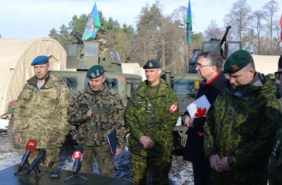 ВУкраинском государстве завершились международные командно-штабные учения Кленовая арка